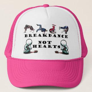 BREAKDANCE-NOT HEARTS TRUCKER HAT