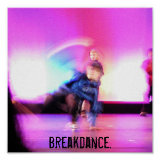 Breakdance. Poster