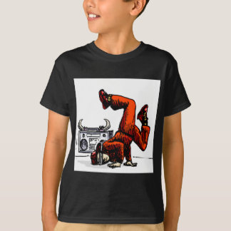 Breakdancer and Box Hip Hop T-Shirt
