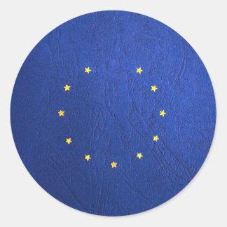 Breakdown Brexit Britain British Economy Eu Euro Classic Round Sticker