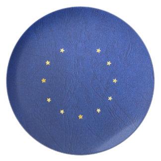 Breakdown Brexit Britain British Economy Eu Euro Plate