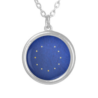 Breakdown Brexit Britain British Economy Eu Euro Silver Plated Necklace