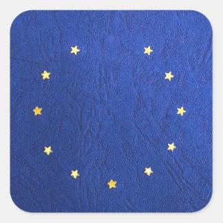 Breakdown Brexit Britain British Economy Eu Euro Square Sticker