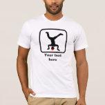 Breaker / B-Boy Logo -- Customizable T-Shirt