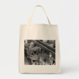 Breaker Boys Eagle Hill Collier Vintage Photo 1884 Tote Bag