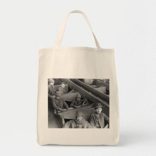 Breaker Boys Eagle Hill Collier Vintage Photo 1884 Tote Bag