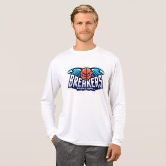 Breakers long sleeve white logo sport-tek T T-Shirt