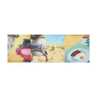 Breakfast Coupling Canvas Print
