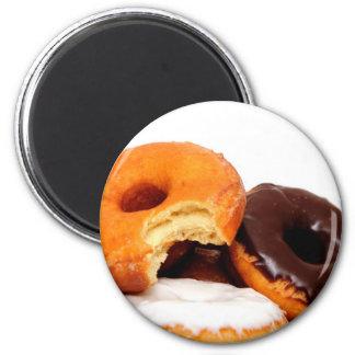 Breakfast Doughnut 2 Inch Round Magnet