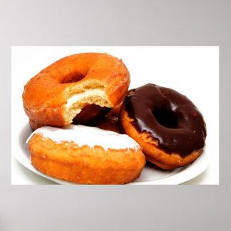Breakfast Doughnut Print