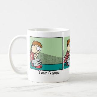 """Breakfast in Bed"" Garfield Comic Strip Coffee Mug"