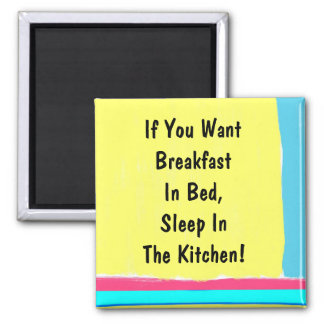 Breakfast In Bed Magnet