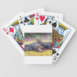 Breakfast is ready bicycle playing cards
