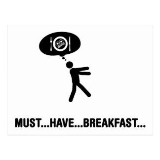 Breakfast Lover Postcard
