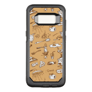 Breakfast Pattern 2 OtterBox Commuter Samsung Galaxy S8 Case