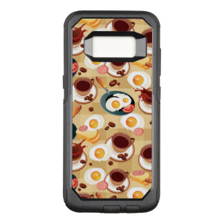 Breakfast Pattern 3 OtterBox Commuter Samsung Galaxy S8 Case