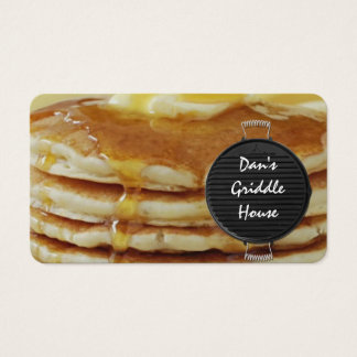 breakfast restaurant business card