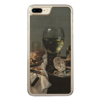 Breakfast Table with Blackberry Pie by Heda Carved iPhone 7 Plus Case