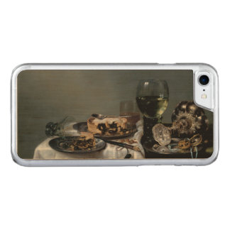 Breakfast Table with Blackberry Pie Heda Carved iPhone 7 Case