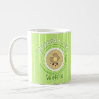 Breakfast Time - Waffle Classic White Coffee Mug