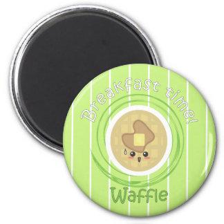 Breakfast Time - Waffle Magnet