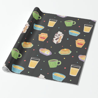Breakfast Time Wrapping Paper
