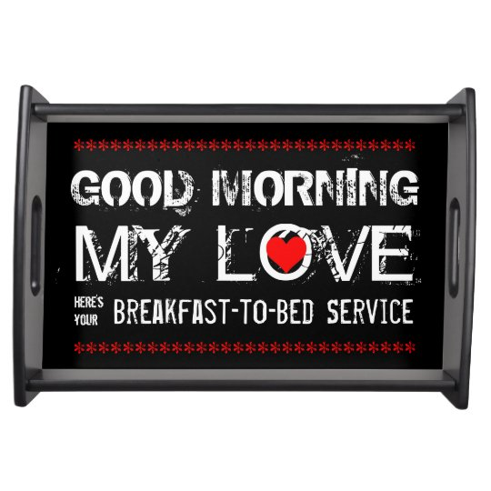 Breakfast-to-Bed Serving Tray