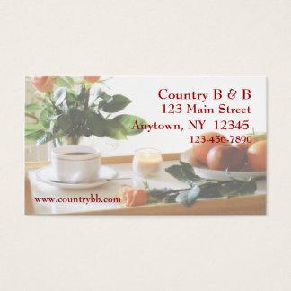 Breakfast Tray Business Card
