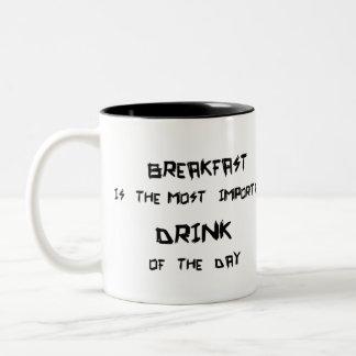 breakfast Two-Tone coffee mug