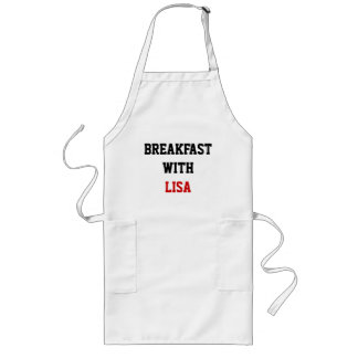 BREAKFAST WITH, LISA LONG APRON