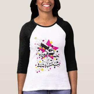 Breakgirl Ragalan Pink Star T-Shirt