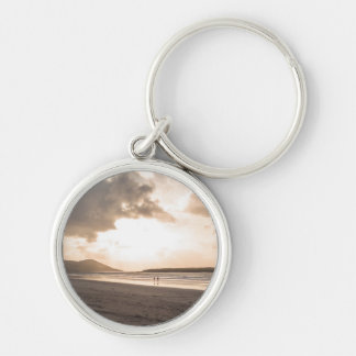 Breaking clouds keychain
