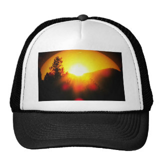 Breaking Dawn Orange Sunrise Trucker Hat
