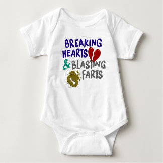 Breaking Hearts Blasting Farts Bodysuit