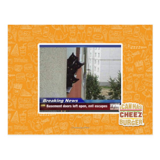 Breaking News 2 Postcard
