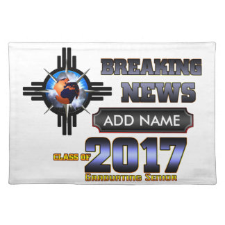 Breaking News Class Of 2017 Placemat