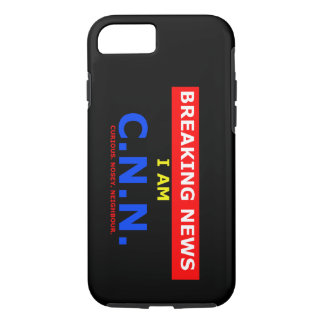 Breaking News: I am Curious Nosey Neighbour (UK) iPhone 7 Case