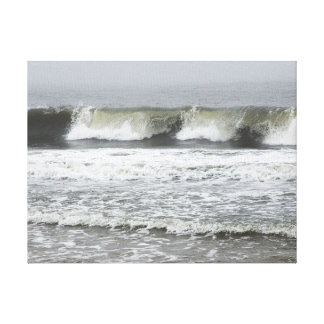 Breaking Ocean Waves Canvas Print