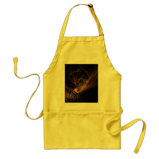 Breaking Point Abstract Art Apron
