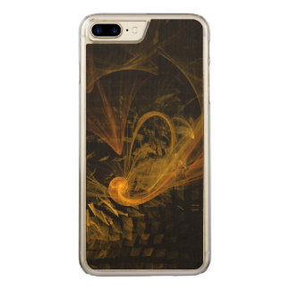 Breaking Point Abstract Art Carved iPhone 7 Plus Case