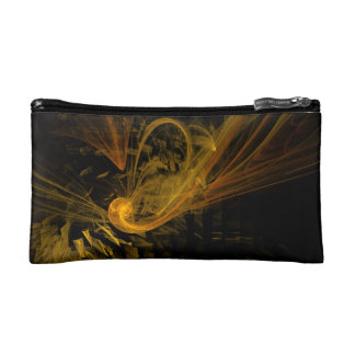 Breaking Point Abstract Art Makeup Bag