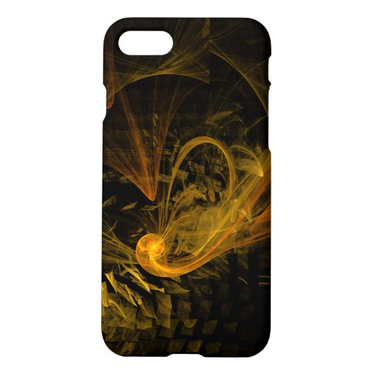 Breaking Point Abstract Art Matte iPhone 8/7 Case