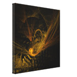 Breaking Point Abstract Art Wrapped Canvas Print