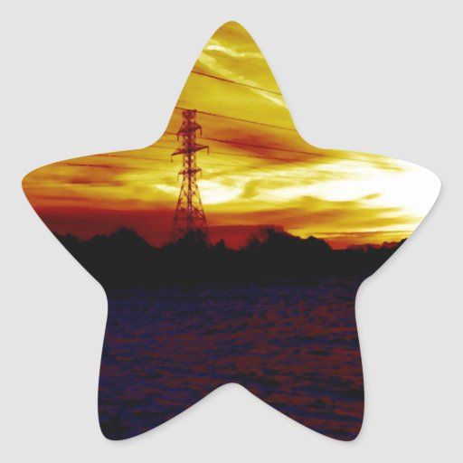 Breaking The Darkness Star Stickers