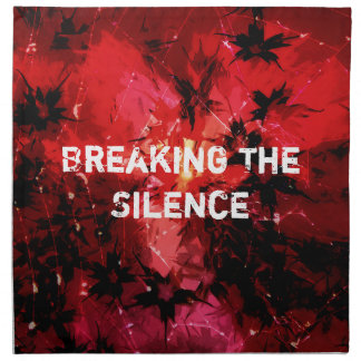 Breaking The Silence 777 Napkin