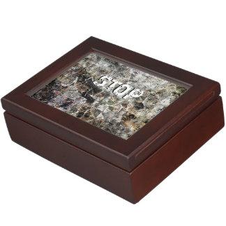 Breaking Times Keepsake Box