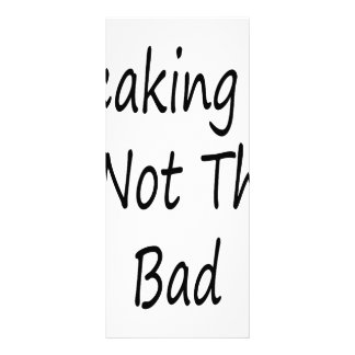 Breaking Up Is Not That Bad Custom Rack Card