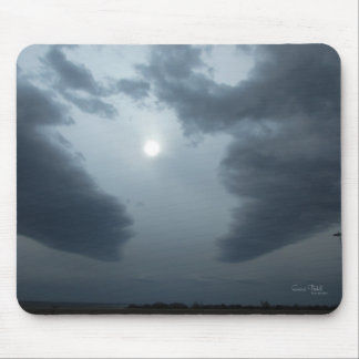 """Breaking Up The Darkness Mouspad"" Mouse Pad"