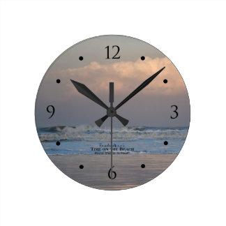 Breaking Wave at Ocean Beach Sunrise Clock
