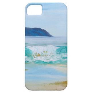 Breaking Wave by KatGibsonArt - love the beach! Case For The iPhone 5